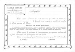 Carte De Membre - Dour - Cercle Ouvrier St Victor - Cartes