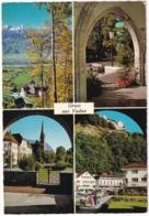 Gruss Aus Vaduz: Residenz, Schloss, Parkanlagen, Regierungsgebäude, Pfarrkirche - Liechtenstein - Liechtenstein