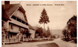 Sancey Le Long (Doubs) - Grande Rue N°30456 - Autres Communes
