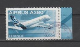 FRANCE / 2006 / Y&T PA N° 69a : Airbus A380 (du Feuillet) BdF D - Choisi - Cachet Rond (juillet 2007) - Luftpost