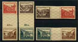 SBZ 1946 ZD WZd1-SZd2 Postfrisch (112902) - Sowjetische Zone (SBZ)