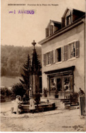 HERIMONCOURT - Fontaine De La Place Du Temple - Autres Communes