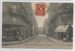 75 - Paris - Arrondissement N° 14 - Carte Peu Courante : Rue Lecuirot Prise De La Rue D ' Alesia - District 14
