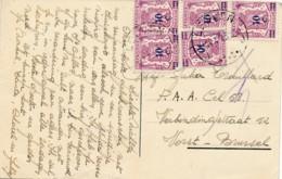 Kaart Antwerpen 14.7.43 Naar Vrouwengevangenis Van Forst – Brussel  - Verjaardag - Guerra 40 – 45