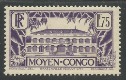 CONGO 1933 - YT 129A** - Unused Stamps