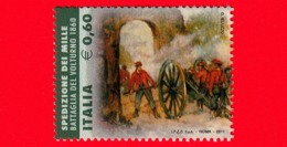 Nuovo - MNH - ITALIA - 2011 - Fatti D'arme - Da BF - Spedizione Dei Mille, Battaglia Del Volturno, 1860 - 60 - 1946-.. République
