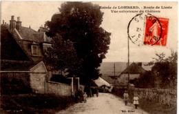Entrée De LOMBARD - Route De Liesle - Vue Extérieure Du Château (Quingey) - Autres Communes