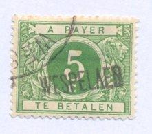 TX12A Met Naamstempel  WESPELAER - Postzegels