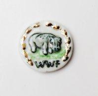 Fève  WWF Hippopotame - YC - Geluksbrengers