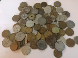 Sale For A Large Lot Of 652grams Of Tokens 90% From Lebanon - See Photos - Tokens & Medals
