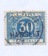 TX15A Met Naamstempel  HASSELT - Taxes