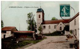 LOMBARD - L'Eglise Et Le Lavoir - Autres Communes
