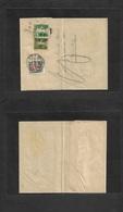 Switzerland - Stationery. 1933 (30 June) Ennenda - Zurich (4 July) Invalid 5c / 7 1/2 Green Ovptd Stat Complete Wrapper - Schweiz