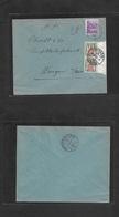Switzerland - Xx. 1934 (10 Oct) Ochlenberg - Wangen (12 Oct) Fkd Env 10c Lilac, Taxed + Arrival Swiss P. Due 10c Vert Pa - Suisse