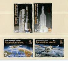 Ascension 2003 Y&T N°819 à 822 - Michel N°895 à 898 *** - Programme Ariane - Ascension (Ile De L')