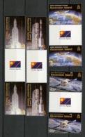 Ascension 2003 Y&T N°819 à 822 - Michel N°895 à 898 *** - Programme Ariane - Inter Panneau - Ascension (Ile De L')
