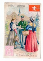 1897? FRANCE, CHOCOLAT CARPENTIER, COLLECTABLE CARDS, THE ROYAL, SWITZERLAND, ADVERTISEMENT CARDS - Advertising