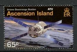 Ascension 2003 Y&T N°821 - Michel N°897 *** - Programme Ariane - 5p Capsule ATV - Ascension (Ile De L')