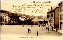 HERIMONCOURT - La Mairie, La Place De La Poste - Autres Communes