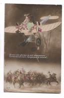"""Soldats  Sur  Chevaux  Dessous  Petite  Fille  En  Avion  """"  Je  Vous  Vois  Glorieux............ """" - Heimat"""
