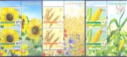 2019. Moldova, Agriculture Of Moldova, Field Crops, 2 Sets + Labels,  Mint/** - Moldawien (Moldau)