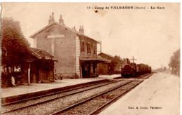 Camp De Valdahon (Doubs)- La Gare (train) - Autres Communes