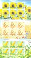 2019. Moldova, Agriculture Of Moldova, Field Crops, 3 Sheetlets,  Mint/** - Moldawien (Moldau)