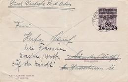 GG: Ganzsache U1, Terespol, Bug, Riss Unten - Occupation 1938-45