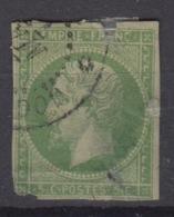 #137 COLONIES GENERALES N° 8 Oblitéré Cochinchine - Napoléon III