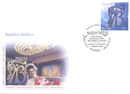 "2019. Moldova, International Opera & Ballet Festival ""Maria Bieschu"", FDC,   Mint/** - Moldawien (Moldau)"
