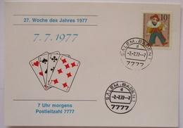 Spiele, Spielkarten Herz Kreuz Karo Pik 1977 (30278) - Spiele