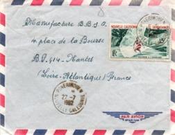 Ponerihouen 1962 - Lettre Calédonie - Nuova Caledonia