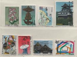 Japan 1987 Siehe Bild/Beschreibung 8 Marken Gestempelt; Used - 1926-89 Imperatore Hirohito (Periodo Showa)