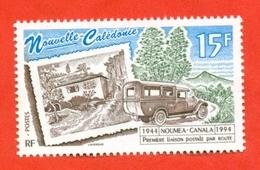 New Caledonia 1994. Unused Stamp. - Busses