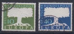 Europa Cept 1957 Germany 2v Used (44620A) - 1957