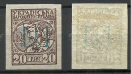 Ukraine Ukraina 1918 Local OPT On Michel 2 * - Ukraine