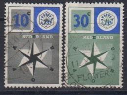 Europa Cept 1957 Netherlads 2v Used (44620D) - 1957