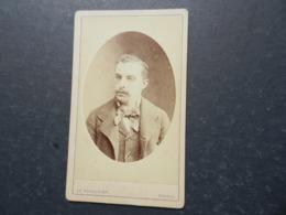 7ogg) ANTICA FOTOGRAFIA PHOTO FOTOGRAFO REUTLINGER PARIS BOULEVARD MONTMATRE - Antiche (ante 1900)