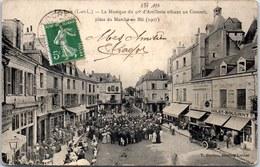 37 LOCHES - Musique Du 30e R.A Place Au Blé (1907) - Loches