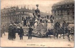 37 TOURS - Mi Carème 1912, Un Char - - Tours