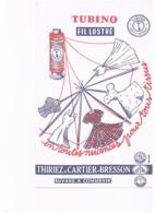 BUVARD : TUBINO FIL LUSTRE - THIRIEZ & CARTIER-BRESSON - Vestiario & Tessile