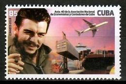 Cuba 2019 / Che Guevara Aviation Ships MNH Barco Aviación Schiffe / Cu14626  C4-5 - Celebridades