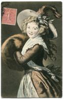 CPA - Carte Postale - Illustrateur - Portrait De Femme - Chapeau  (I9929) - Women