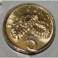 SINGAPOUR - KM 99 - 5 CENTS 2002 - FDC - Singapore