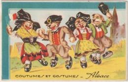 Animaux :  Chat  Qui  Dansent   , Alsace - Chats