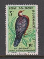 New Caledonia SG 407 1966 Birds 3F Caledonian White Throated Pigeon Used - New Caledonia