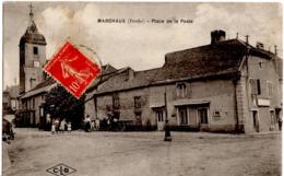 MARCHAUX (Doubs) - Place De La Poste - Autres Communes