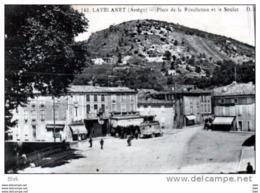 09.ariège . Lavelanet . Place De La Révolution Et Le Soulat . - Lavelanet
