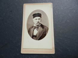 7ogg) ANTICA FOTOGRAFIA PHOTO FOTOGRAFO AUGUSTE BUTIN PARIS FAUBURG St ANTOINE 4 - Antiche (ante 1900)