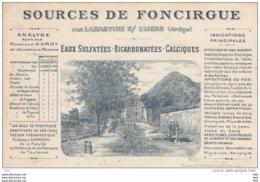 09. Ariège : Labastide .sources  De Foncirgue  . - Andere Gemeenten